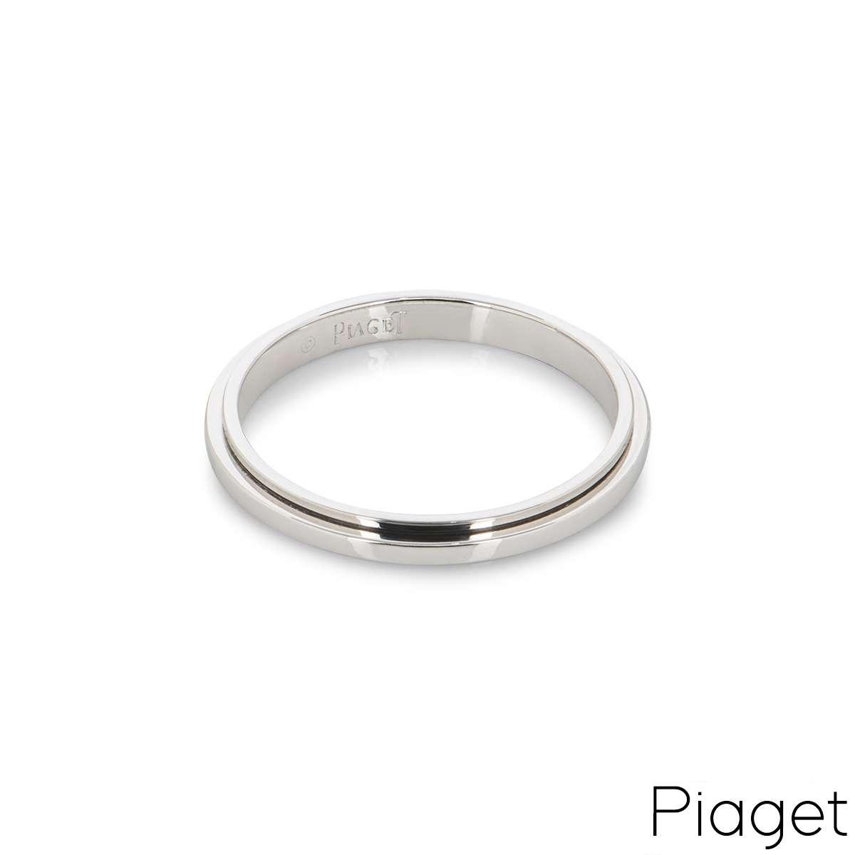 Piaget 18k White Gold Possession Ring B&P G34PR300